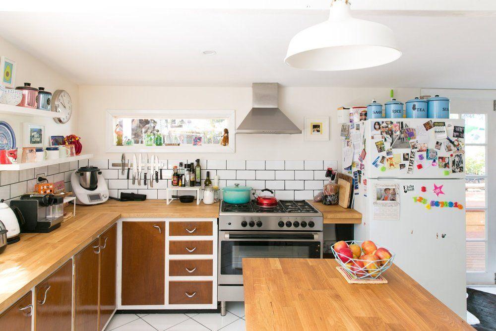 Nicole & Ben\'s Eclectic Family Pad in Western Australia | Cocinas