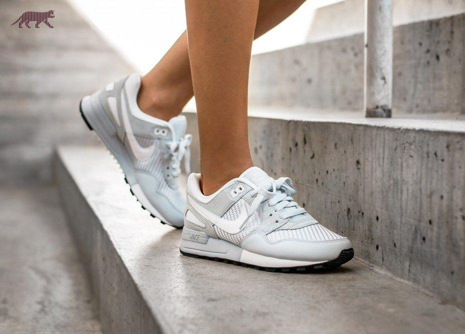 Nike Wmns Air Pegasus 89 (Pure Platinum / Summit White - Wolf Grey)