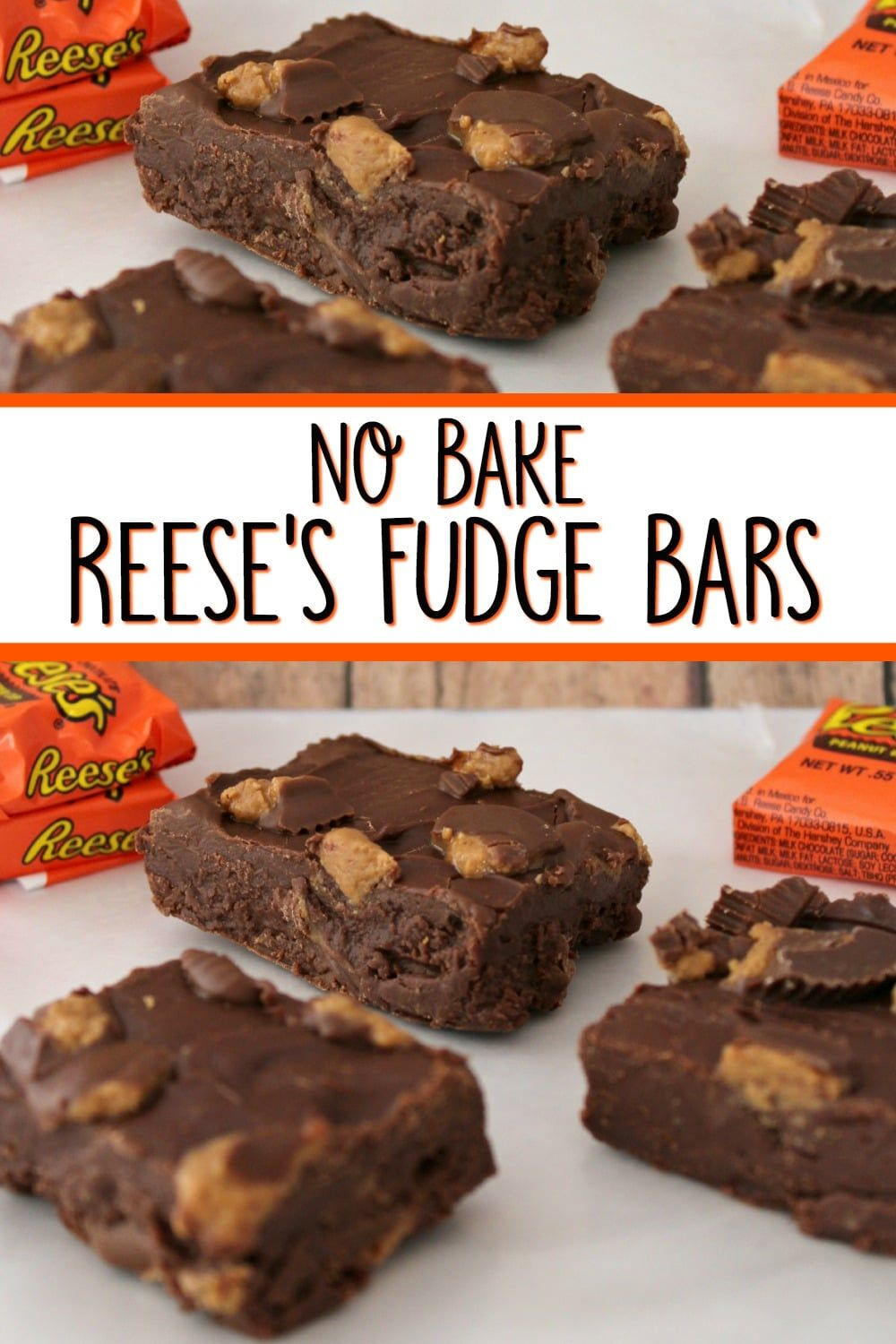 No Bake Reese Fudge Bars That Will WOW Your Friends These No-Bake Reese Fudge Bars are easy to make and oh-so-delicious! Your friends will all clamor for the recipe! They make great gifts too! Put them in a cute tin and gift them to friends and family!