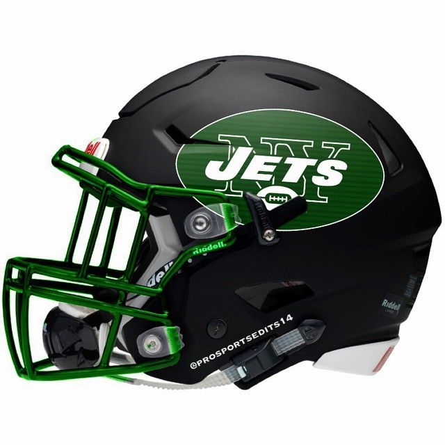 Image result for black ny jets helmet
