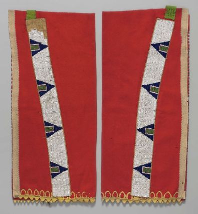 Pair of leggings Sioux or Cheyenne ca. late 19th Century