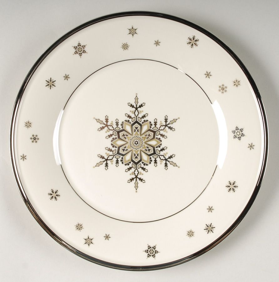 Solitaire Christmas Pattern By Lenox China Christmas Dinnerware Christmas Tableware Christmas China