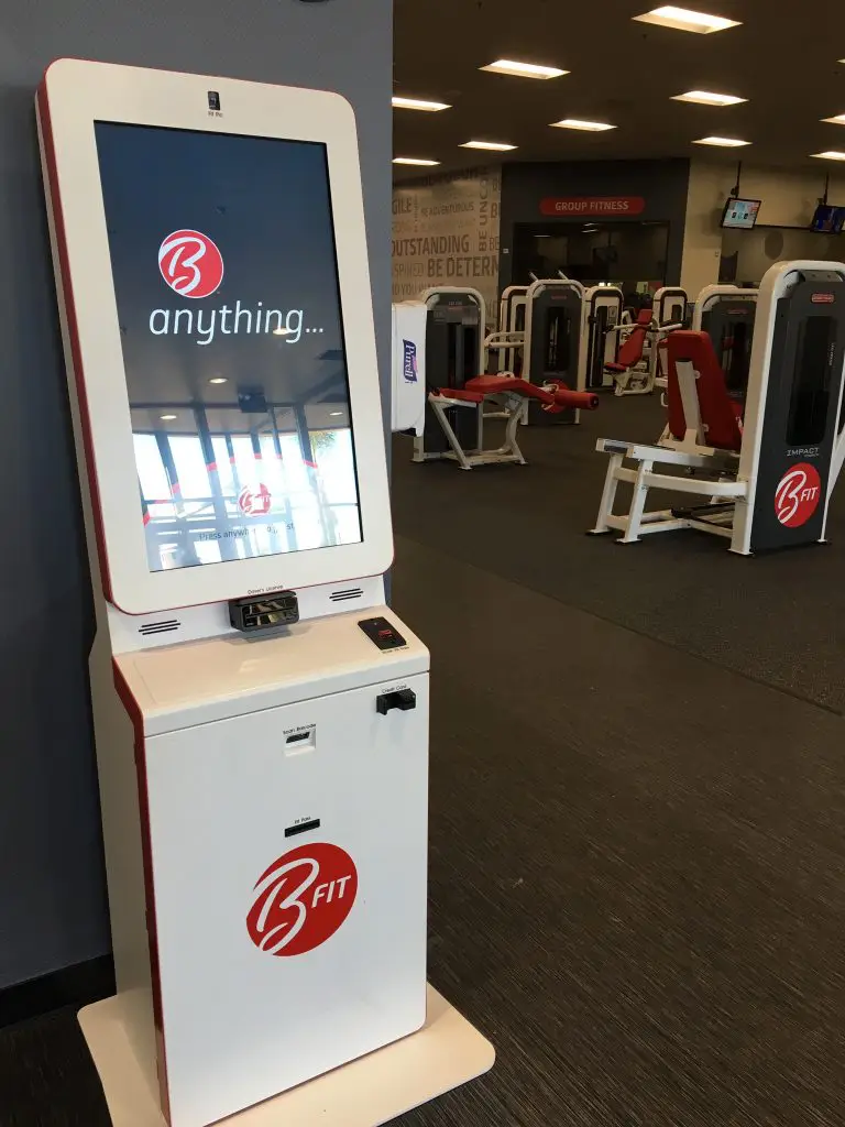 Fitness Wellness Kiosk At Bfit Workout Gym Gym Workouts Gym Types Of Gym