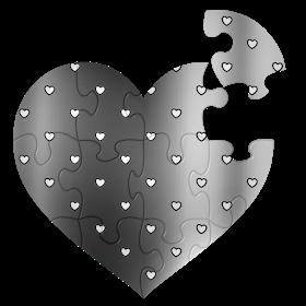 Monica Michielin Alfabetos Silver Hearts Polka Dots Alphabet Numbers And Icons Png Polka Dots Silver Heart Polka