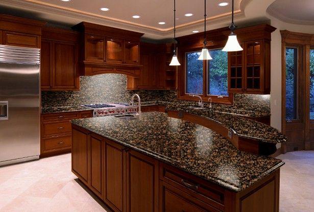 Cly Granite Kitchen Countertop