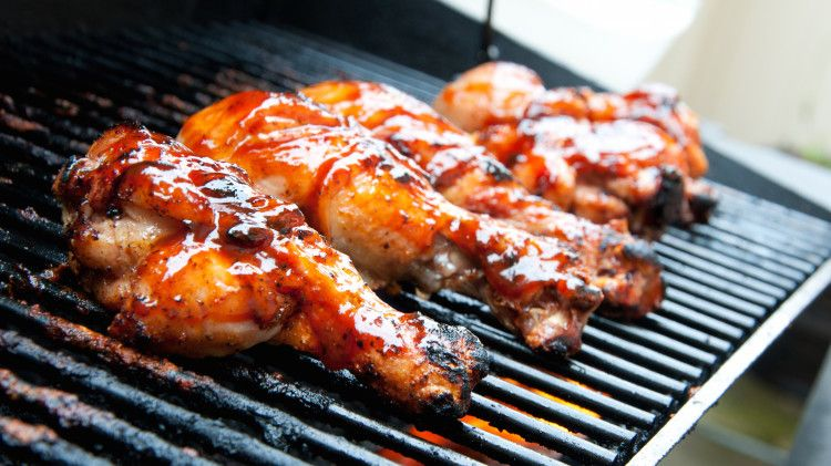 Learn The Trick To Getting Deliciously Cooked Bbq Chicken Without The Charred Skin Bbq Chicken Recipes Grilled Chicken Recipes Bbq Chicken Legs