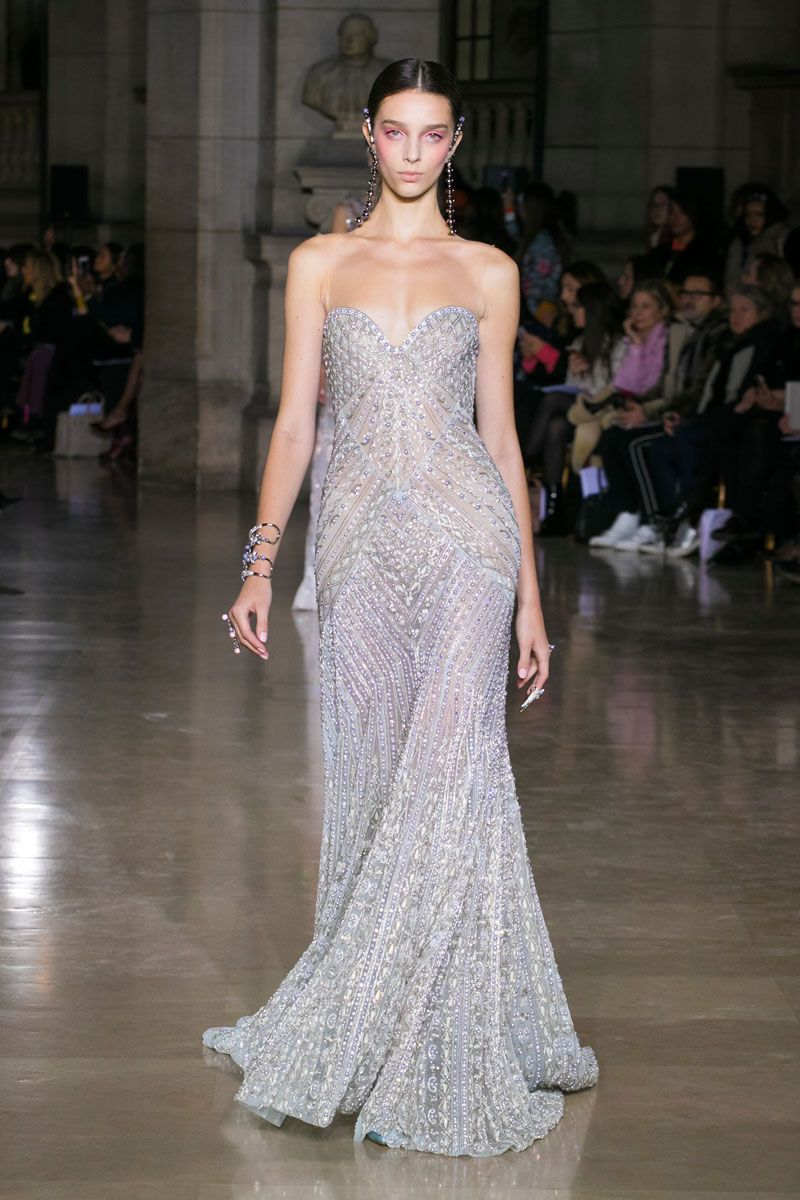 Georges hobeika spring summer 2017 haute couture for Haute couture fashion