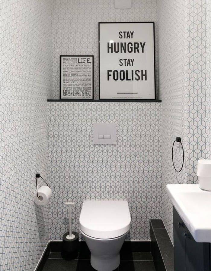 Décorer ses toilettes sans faire ringard   toilette   Bathroom ...