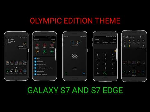 S7 EDGE OLYMPIC EDITION THEME ON S7 EDGE / TEMA DEL S7 EDGE