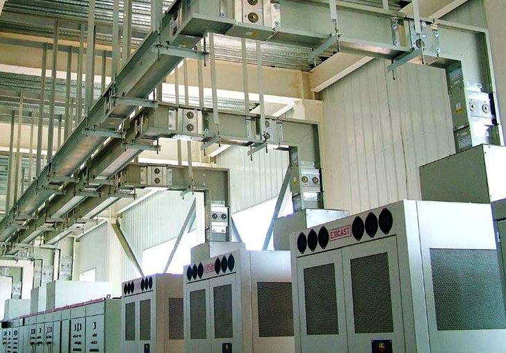 Typical Installation Of Busbar Trunking System Energy