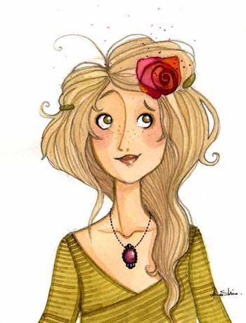 Criando Desenhos: Anne Soline ( Lili Gribouillon )