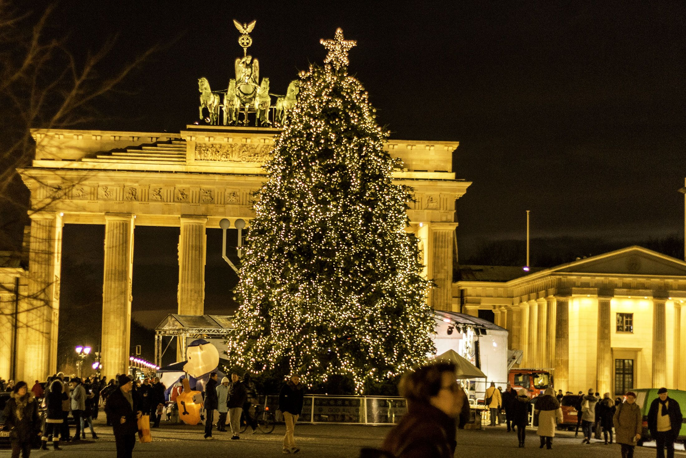 Berlin Brandenburger Tor Weihnachten Berlin Fotos Weihnachten Brandenburger Tor