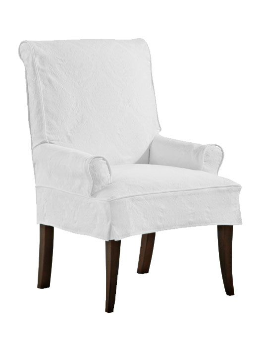 Elegant Shoreline Slipcovered Furniture, Shoreline Slipcovered Parsonu0027s Chair #50