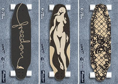 cool longboard grip tape designs