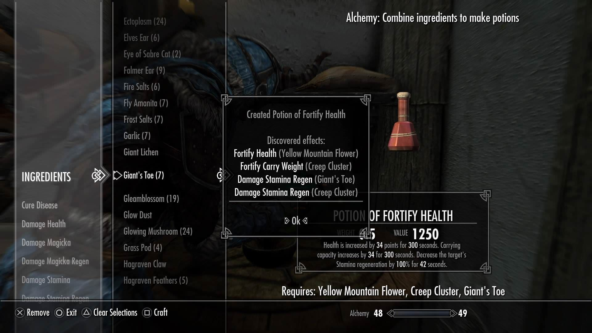 Im Pretty Proud Of This Potion Games Skyrim Elderscrolls Be3