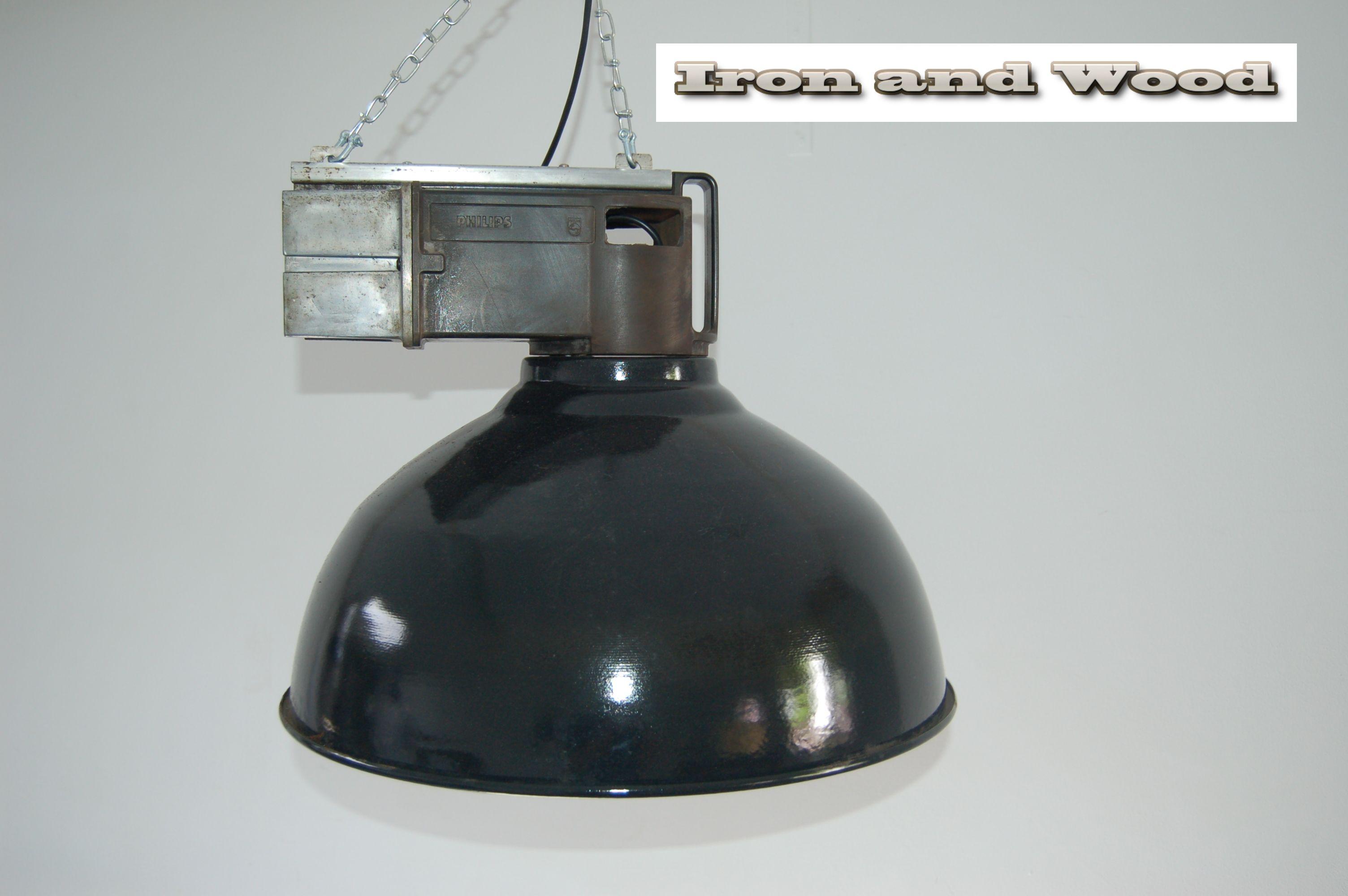 Oude Industriele Lampen : Originele philips fabriekslamp voor meer diverse oude