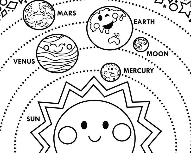 Solar System printable 24