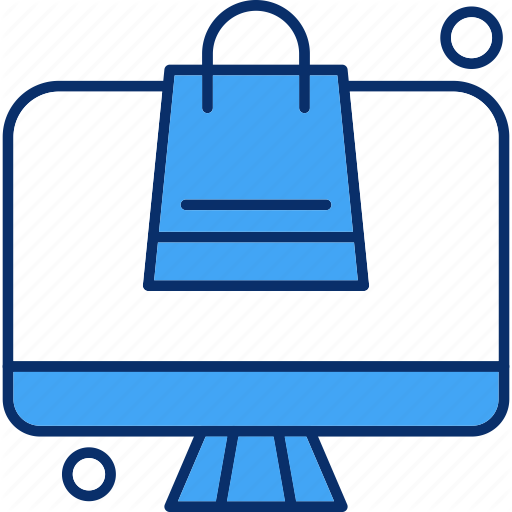 Bag Lcd Led Online Shopping Icon Download On Iconfinder Shop Icon Icon Lcd