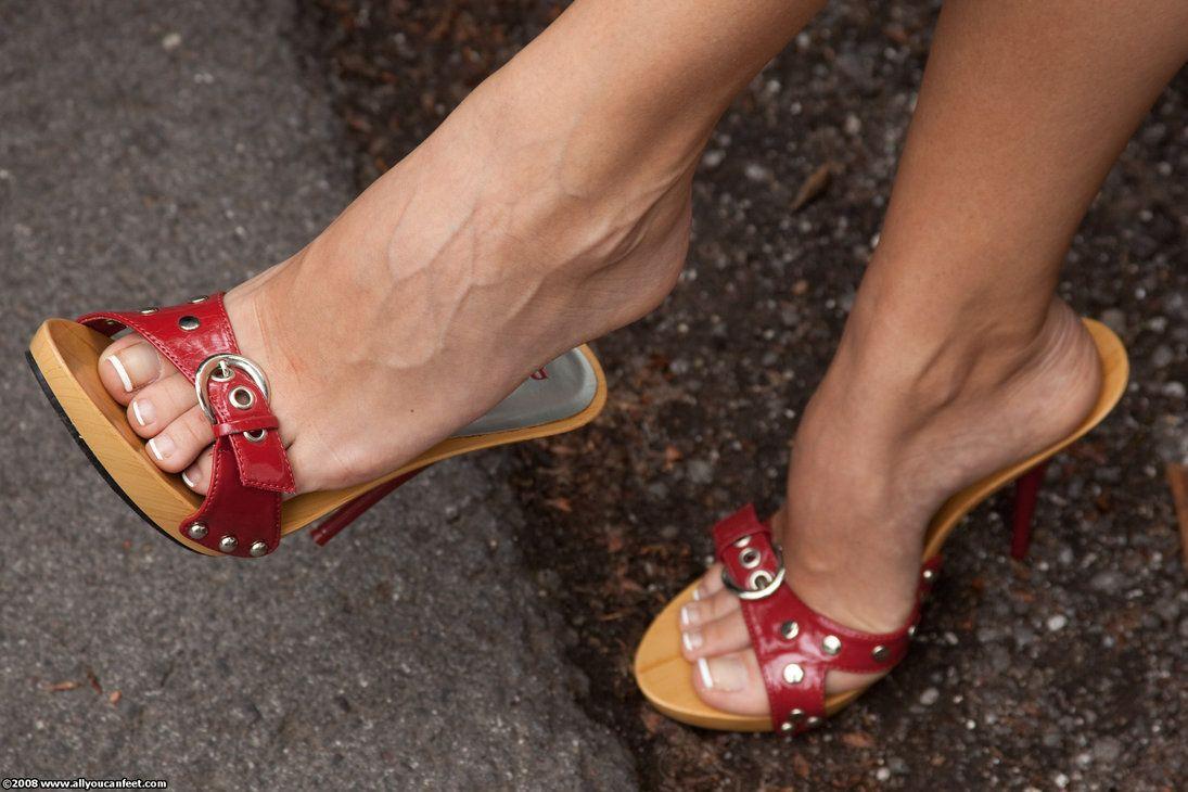Classy Mature Feet