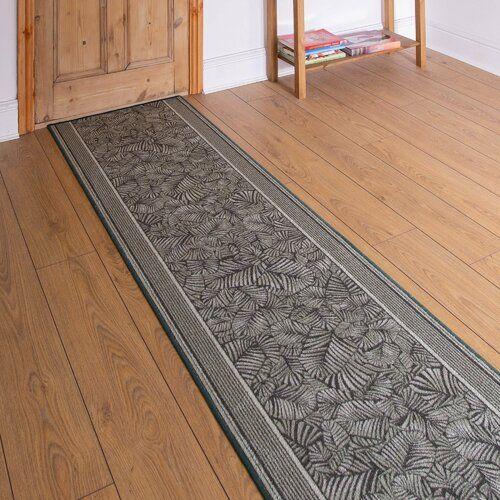 Teppich Almond in Grün Rosalind Wheeler Teppichgröße: Läufer 80 cm x 390 cm