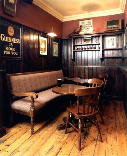 Traditional Bar Interior Conversation Area Kind Of