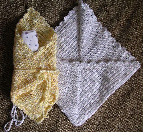 Ravelry Crochet Burial Wrap For Preemie Pattern By Debbie Cowherd