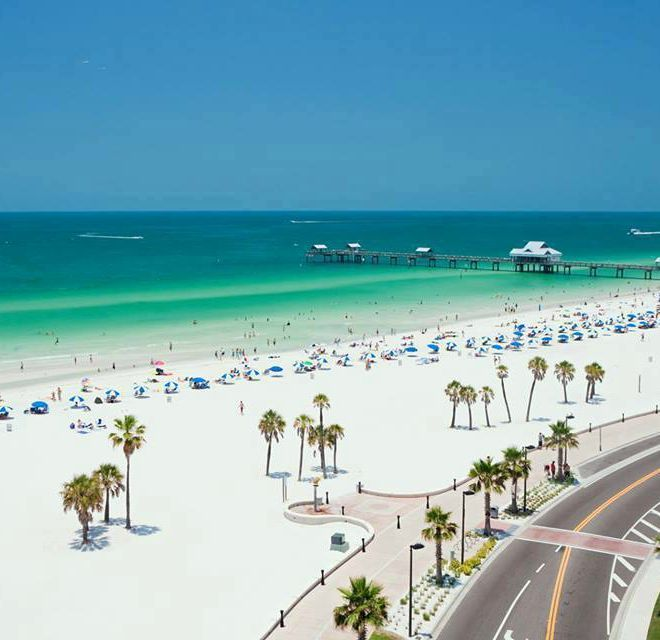 Beautiful Places In Florida To Stay: Clearwater Beach, Florida