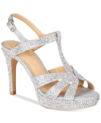 fe83a36a49da Thalia Sodi Verrda2 Embellished Platform Dress Sandals