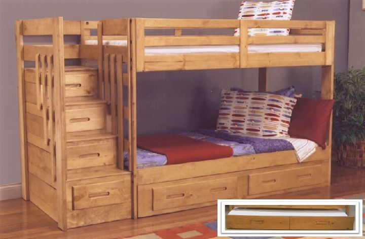 Crossroads Furniture Oak West 1375 Stair Bunk Bed Saratoga Everything Else Pinterest