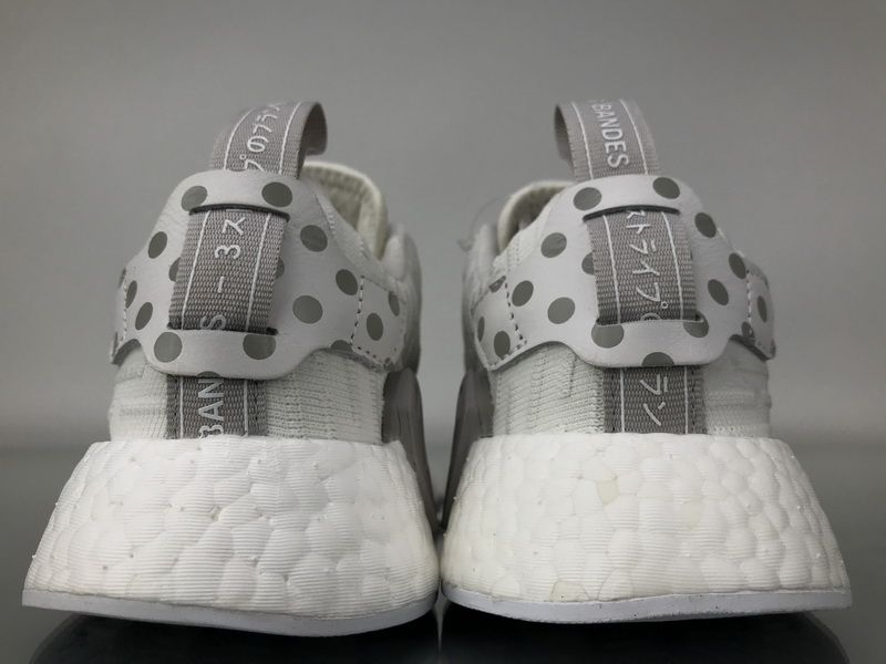 """ef5a36c16 Adidas NMD R2 Primeknit """"WhiteSilver"""" BY2245 Women Ladies Girls Real Boost  for Sale5"""