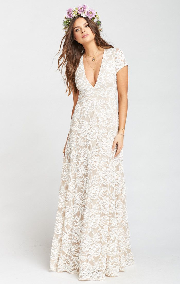 Eleanor Maxi Dress Lovers Lace Show Me The Ring Wedding