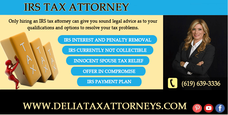 IRS Tax Attorney Vs. Accountant with IRS tax problems