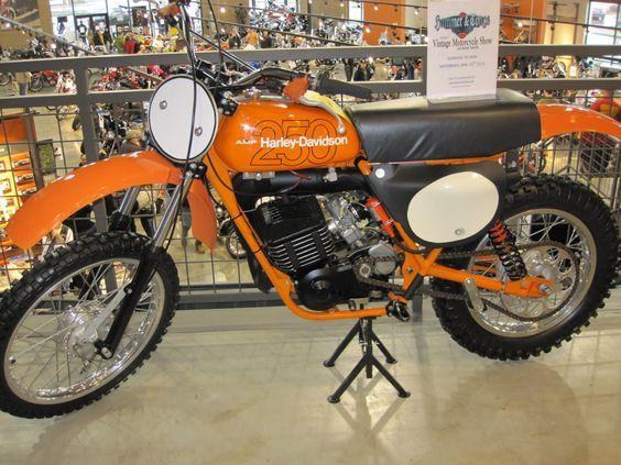 Harley Davidson Motocross Bike