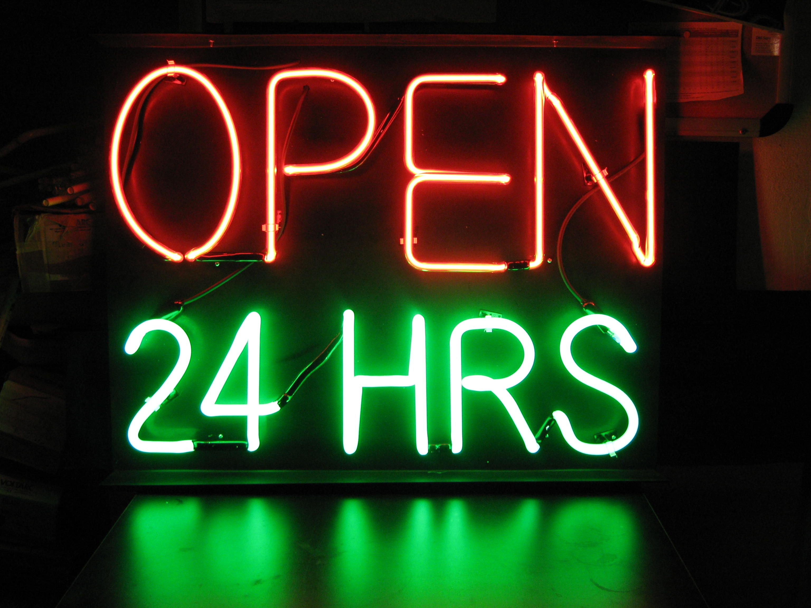 neon signs they are the most photo by jimmy ming shum largest selection of open neon signs. Black Bedroom Furniture Sets. Home Design Ideas