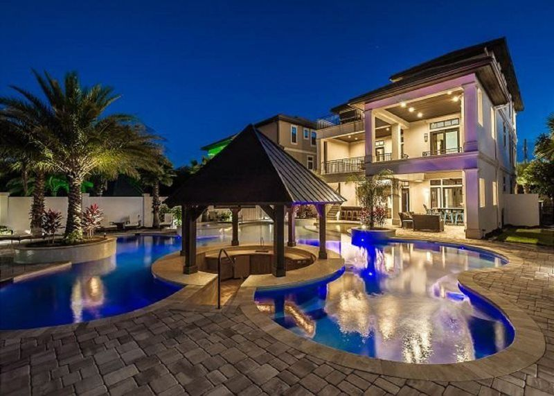 As Sweet Possibles Lagoon Style Pool Feat Swim Up Bar