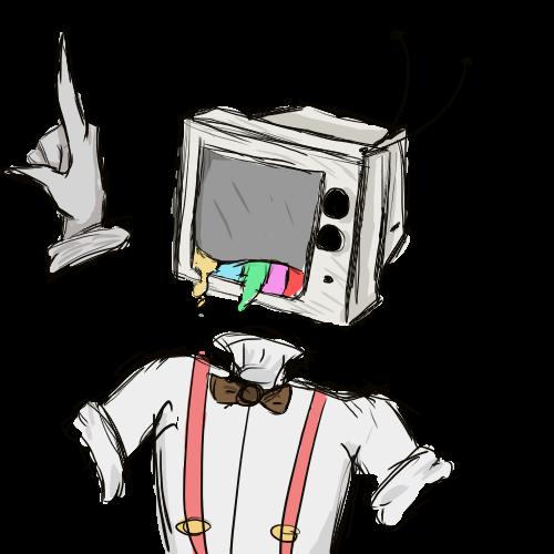 Objectheads Object Heads Tv Head Cartoon Art Styles