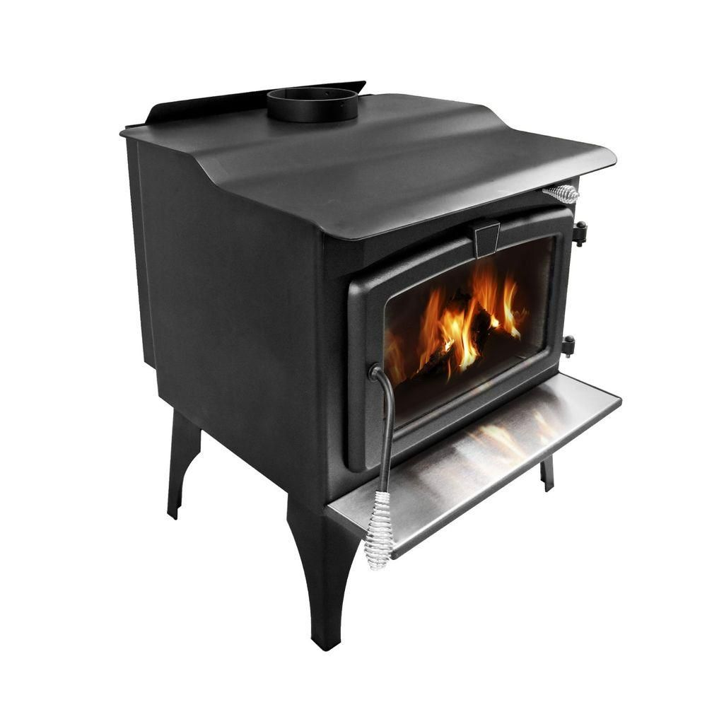 Pleasant Hearth 1 800 Sq Ft Epa Certified Wood Burning Stove With Blower Med Wood Burning Fireplace Inserts Most Efficient Wood Stove Wood Burning Fireplace