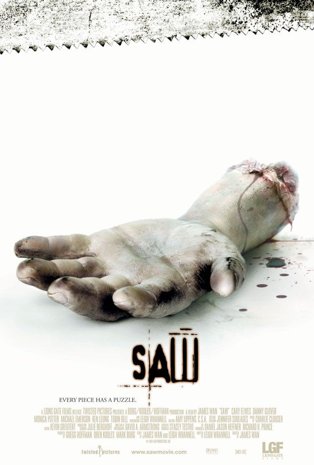 Resultado de imagen para saw i movie poster
