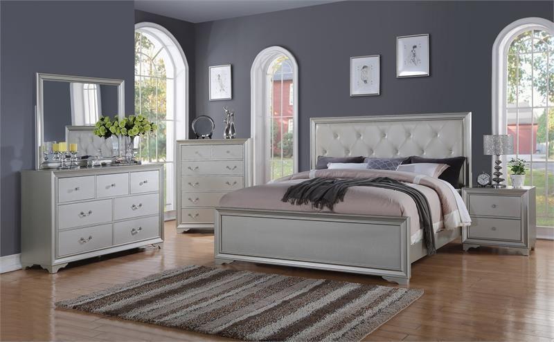 Mcferran B508 4 Piece Bedroom Set Las Vegas Furniture Online