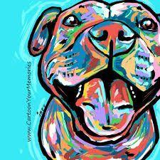 Image Result For Cartoon Pitbull Pitbull Art Pitbull Drawing