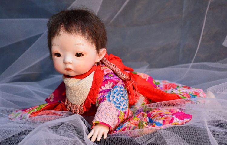 玉青の球体関節人形■アオ乃ドオル