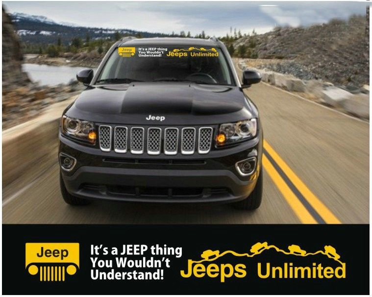 Jeeps Unlimited It S A Jeep Thing You Wouldn T Understand Jeep Compass Jeep Chrysler Dodge Jeep