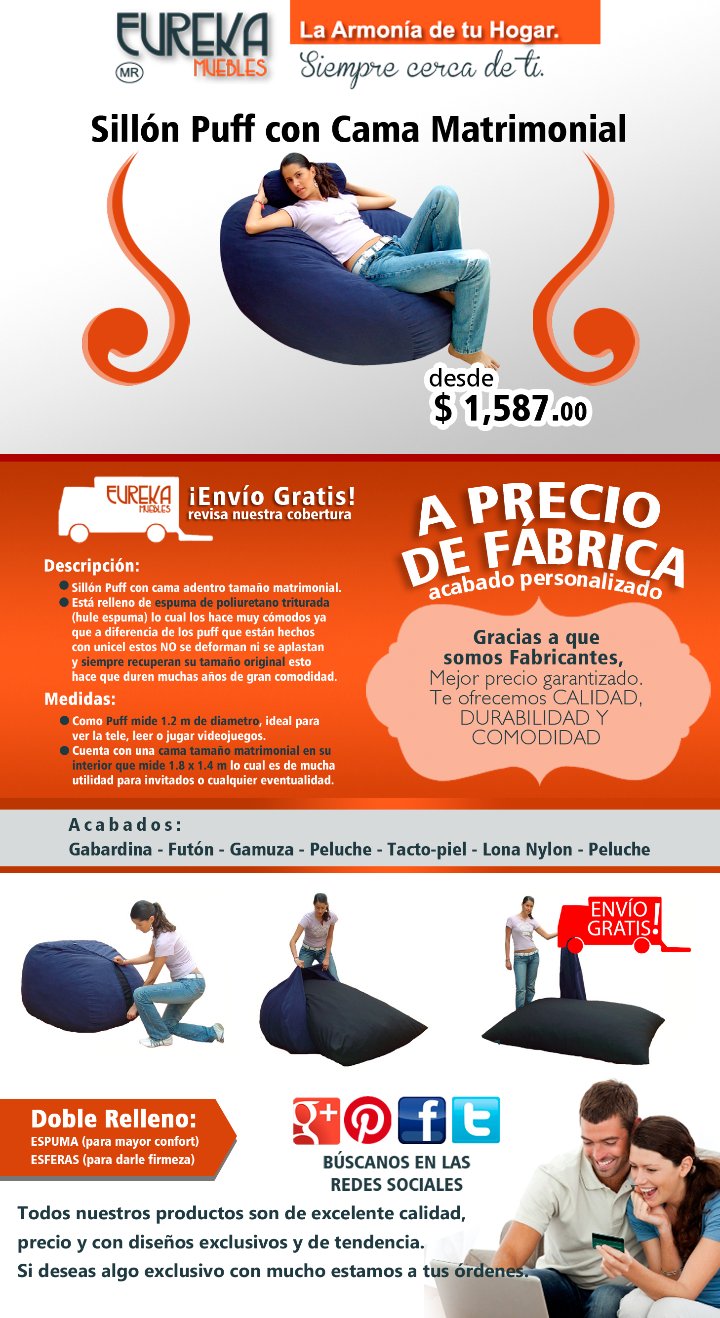 //www.eurekamuebles.com.mx/sofa-camas/puffs/sillon-puff-con ... on sofa designs, sofa blanco, sofa wood, sofa covers, sofa couches, sofa beds, sofa chair, sofa de dois foto, sofa in-house, sofa styles, sofa legs, sofa car, sofa mart, sofa love, sofa china, sofa azul,