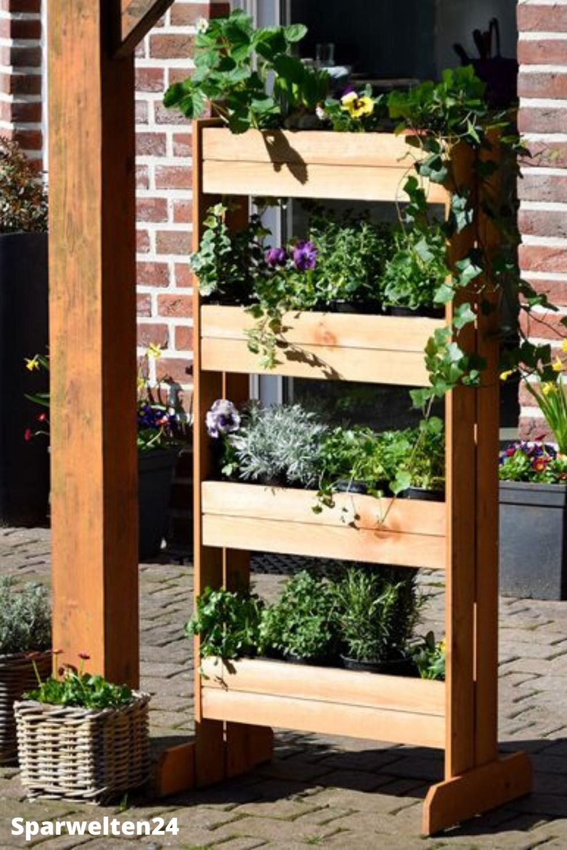 Gartendekoration Dobar Vertikalbeet In 2020 Vertikalbeet Garten Pflanzkasten Vertikales Pflanzen