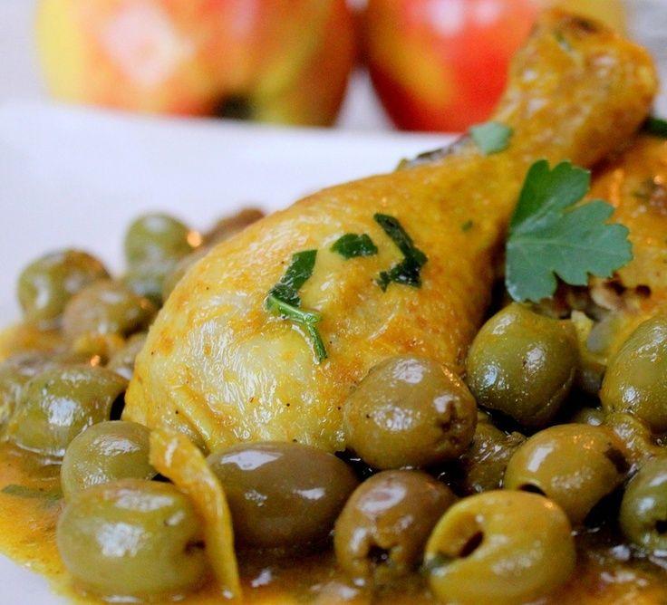 Poulet aux olives et aux câpres !  http://wp.me/p2xKwN-s6