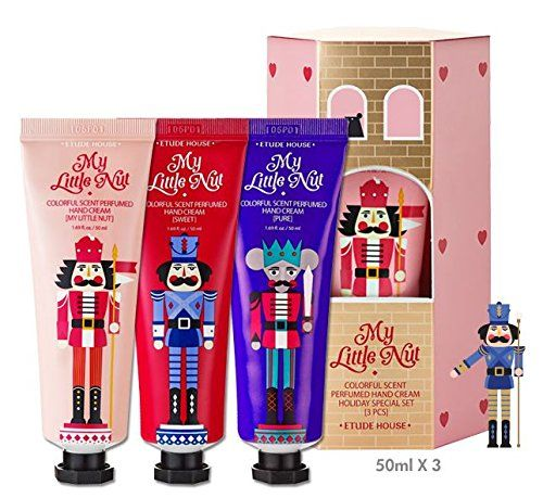 Etude House My Little Nut Colorful Scent Perfumed Hand Cream Holiday Special Set -- Check out this great product.