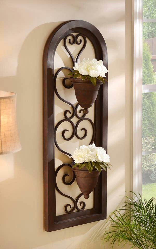 #kirklands Love this for front porch by our front door ... on Hobby Lobby Outdoor Wall Decor Metal id=60802