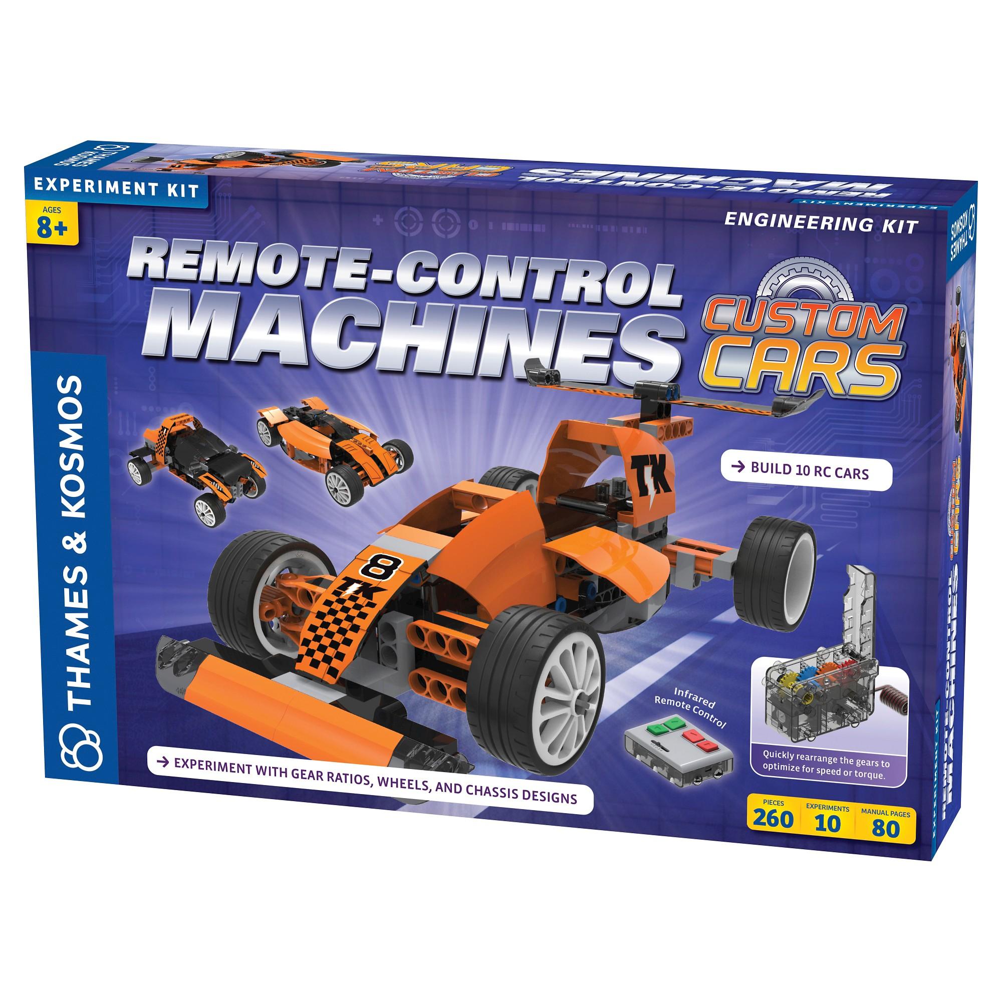 Thames & Kosmos RemoteControl Machines Custom cars