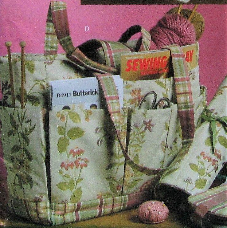 Sewing Bag Sewing Pattern UNCUT Butterick B5006 | Bag ...