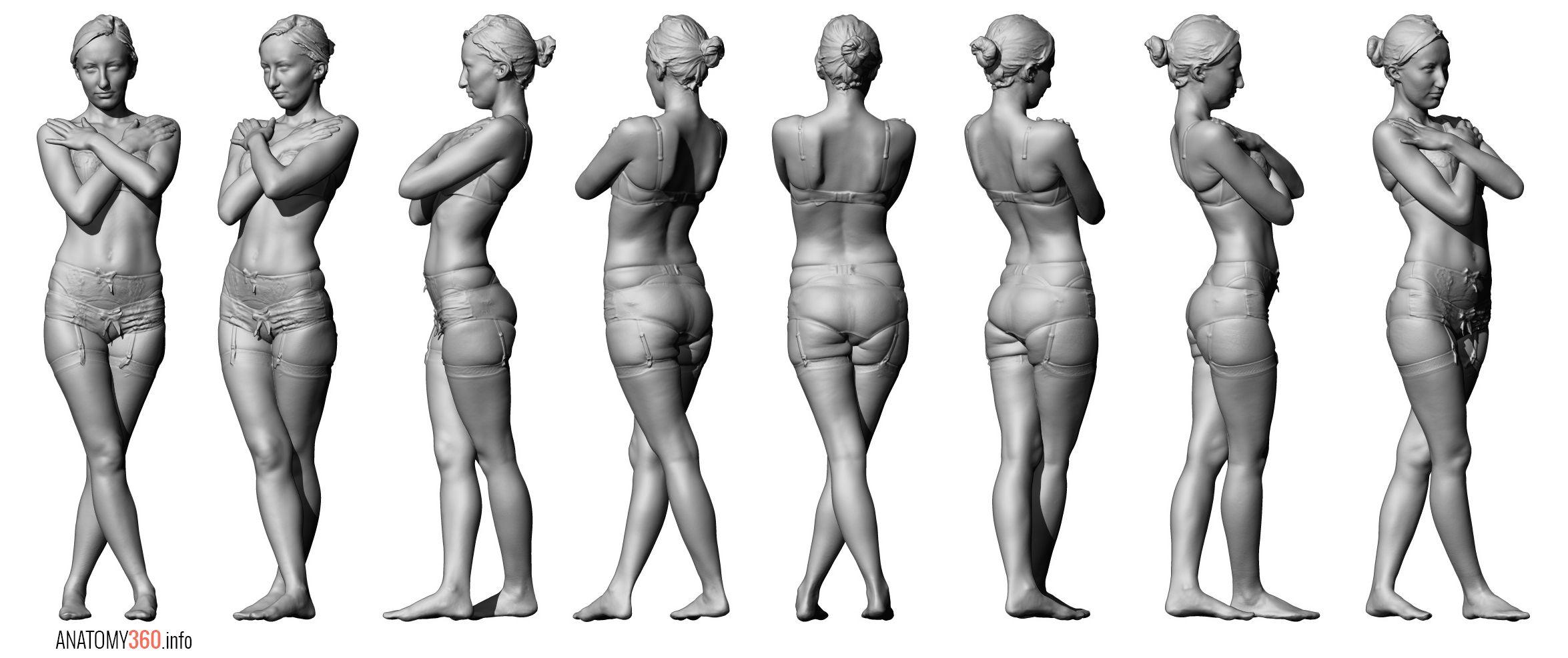 Fullbodyscanf03p0308 Anatomy 360 Pinterest Anatomy Pose And